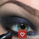 Пример вечернего макияжа