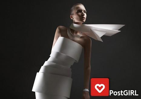 Бумажная мода