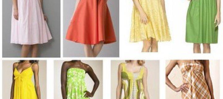 Летняя мода – сарафаны