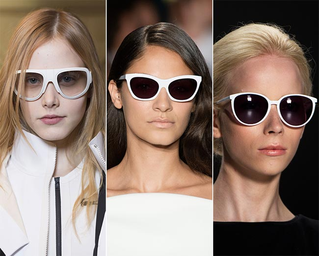 spring_summer_2015_eyewear_trends_white_framed_sunglasses