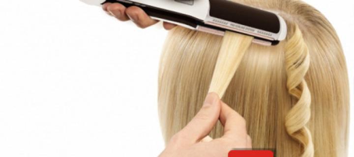 Как накрутить прямые волосы
