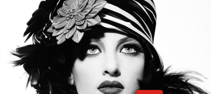 Ретро фотосессия для журнала красоты
