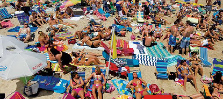 Подготовка к пляжному сезону