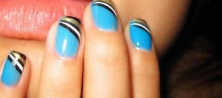 Как красиво сделать форму ногтей?