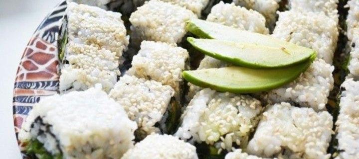 Овощные суши-роллы