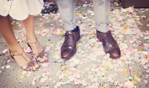 21 идея стильного сочетания свадебной обуви невесты