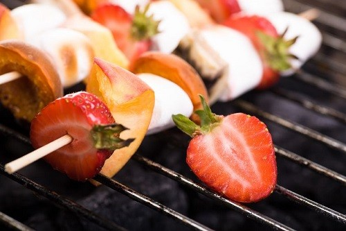 Grilled-berries