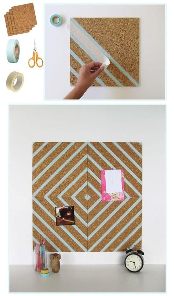 washi-tape-corkboard